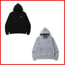 A BATHING APE★送料込み★ダブルニットRELAXED FITフーディ