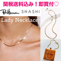 SHASHI☆ロンハー取扱☆Lady Necklace レディネックレス