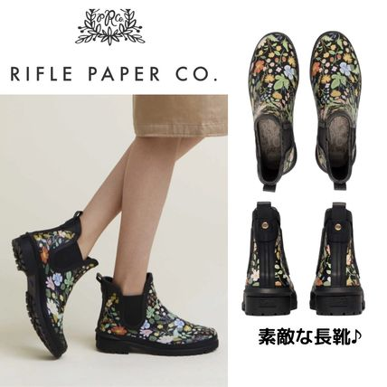 RIFLE PAPER CO.×KEDS Strawberry Fields 素敵なレインブーツ