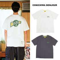 CONICHIWA bonjour(コンニチハボンジュール) Tシャツ・カットソー 【CONICHIWA bonjour】21ss SPARKLING T charcoal/white