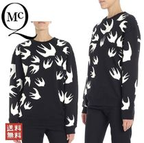 McQ(マッキュー) スウェット・トレーナー MCQ SIGNATURE SWALLOW SWEATSHIRT 337341 LT72 1000