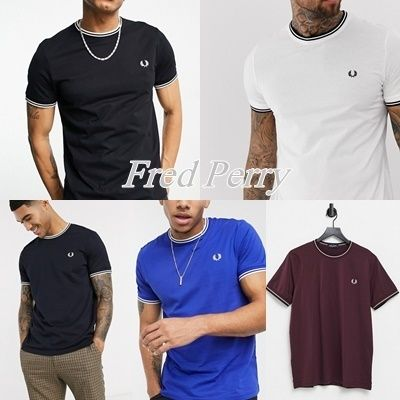 【Fred Perry】ツインチップ 半袖 Tシャツ