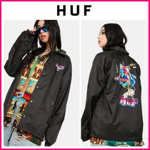【最新作】人気♪ ☆ HUF ☆ CHUN-LI AND CAMMY COACH JACKET