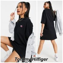 Tommy Jeans ヴィンテージグラフィック Tシャツ ワンピース
