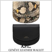 [A.P.C.] GENEVE LEATHER WALLET (送料関税込み)