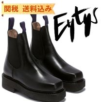 【EYTYS】ORTEGA LEATHER BLACK