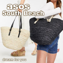 *ASOS*South Beach* ストロートートバッグ (送料/関税 込み)