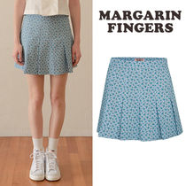 ★Margarin Fingers★送料込み★韓国★正規品 half pleats skirt