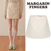 ★Margarin Fingers★送料込み★韓国★人気 jacquard slit skirt