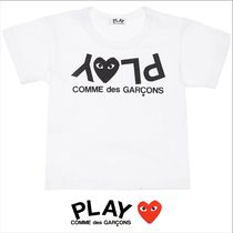 COMME des GARCONS(コムデギャルソン) キッズ用トップス 人気デザイン![COMME DES GARCONS PLAY]ロゴプリントTシャツ