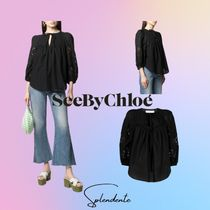 ☆SEE BY CHLOE☆GUIPUREのブラウス☆