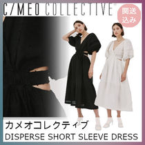 ★C/MEO COLLECTIVE★DISPERSE SHORT SLEEVE DRESS★関送込