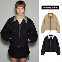 ANDERSSON BELL(アンダースンベル) アウターその他 ANDERSSON BELL★21SS★MIKA COLOUR CONTRAST SHORT BOMBER