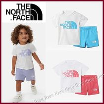 THE NORTH FACE☆ロゴ Tシャツ ショーツ 上下2点セット 0-24M