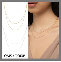 【OAK + FORT】人気★レイヤードネックレス LAYERED-NECKLACE