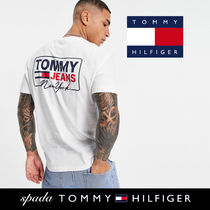 SALE【Tommy Jeans】半袖 NY ロゴ Tシャツ ホワイト / 送料無料