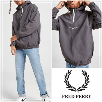 UK発★FRED PERRY 21SS Embroidered ナイロンジャケット