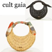 Cult Gaia★Taja Mini Top Handle Bagスカーフトートバッグ