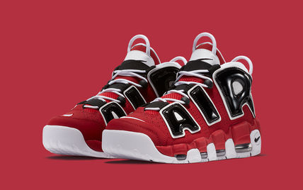 NIKE  AIR MORE UPTEMPO '96 Varsity Red - 921948 600