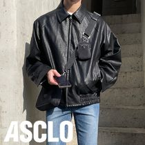[ASCLO MADE] Summer Leather Blouson (3color)