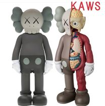 KAWS★Companion Flayed Open Edition & Vinyl Figure Brown Set