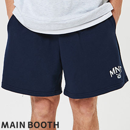 ★MAINBOOTH★MNT Sweat Shorts(NAVY)★正規品/韓国直送料込