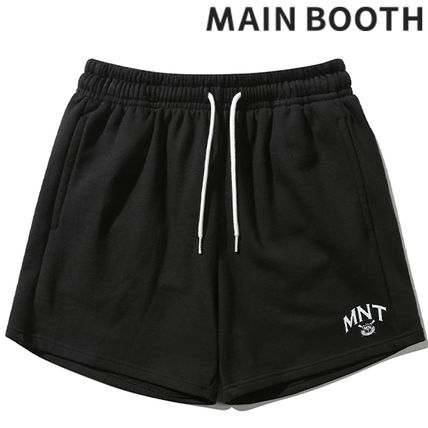 ★MAINBOOTH★MNT Sweat Shorts(BLACK)★正規品/韓国直送料込