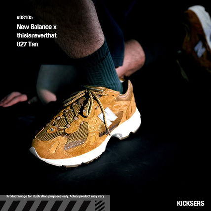 ネバザコラボ!New Balance x thisisneverthat 827 Tan