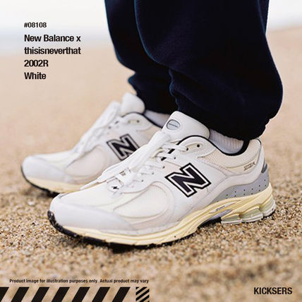 ネバザコラボ!New Balance x thisisneverthat 2002R White