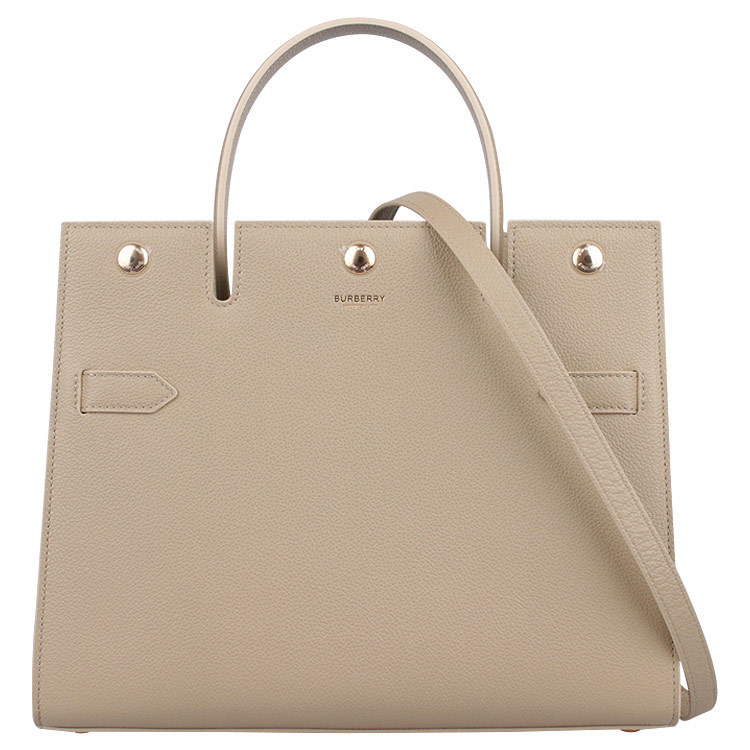 【BURBERRY】TITLE BAG SMALL (Burberry/ハンドバッグ) 67545085