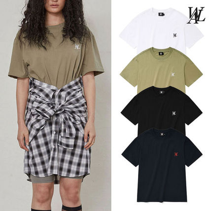 ★WOOALONG★ Signature embroidery short sleeved T-shirt 半袖