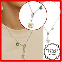 VINTAGE HOLLYWOOD(ヴィンテージハリウッド) ネックレス・チョーカー 人気★ VINTAGE HOLLYWOOD★Swing Daisy Charm Necklac.e★