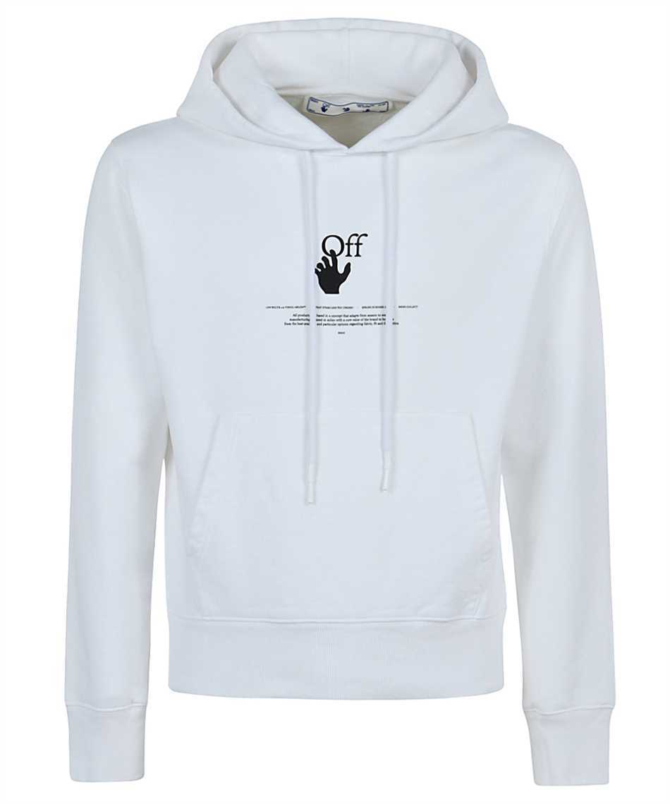 Off-White OMBB034R21FLE005 OFFF SLIM Hoodie (Off-White/パーカー・フーディ) OMBB034R21FLE005 141