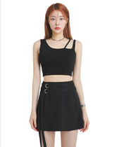 [our] Rory Unbalance Strap Sleeveless (2color)