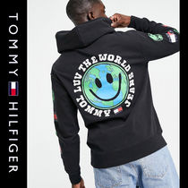 SALE【Tommy Jeans】ロゴ パーカー ブラック / 送料無料