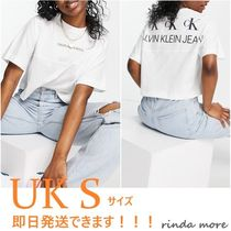 ■Calvin Klein Jeans■cK*ロゴ*半袖クルーTシャツ■送料込