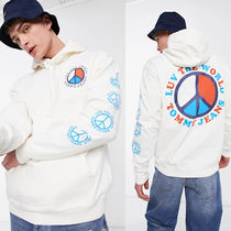 Tommy Jeans Luv the world capsule ロゴプリント パーカー