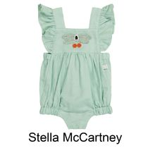 Stella Mccartney Baby Linen And Cotton Baby Suit 3~36M国内発