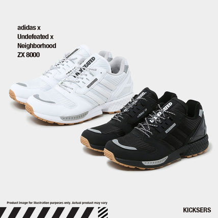 話題トリプルコラボ adidas x Undefeated x Neighborhood ZX8000