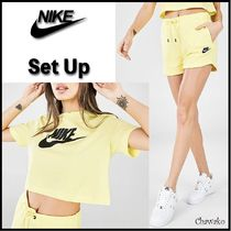 【Nike】Cropped T-Shirt & SHORTS☆Tシャツ セットアップ