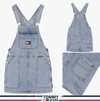 TOMMY JEANS★正規品★Cargo デニム サロペット/安心追跡付