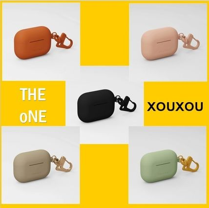 【XOUXOU】SILICONE AIRPODS PRO CASE カラビナ付き