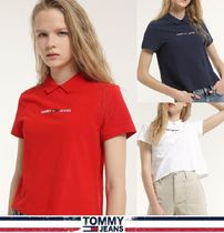 TOMMY JEANS★正規品★Linear Logo ポロシャツ/安心追跡付