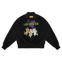 【AFGK】 a few good kids Angel JACKET スタジャン ブラック