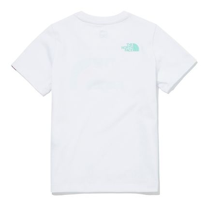 THE NORTH FACE キッズ用トップス [ノースフェイスキッズ] キッズ COLOR LOGO Tシャツ ★新作★(6)