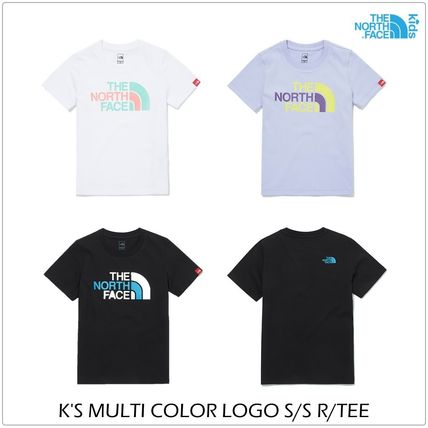 THE NORTH FACE キッズ用トップス [ノースフェイスキッズ] キッズ COLOR LOGO Tシャツ ★新作★