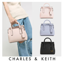 [Charles&Keith](新作日本未入荷)Double Handle Tote Bag