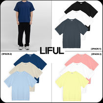 【 LIFUL 】★韓国大人気★Recycled Compact T-Shirt(3PACK)
