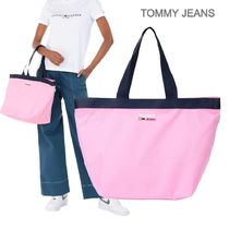 TOMMY JEANS★TJW CAMPUS トートバック