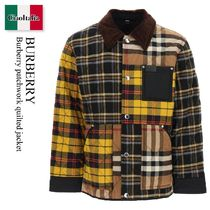 Burberry patchwork quilted jacket